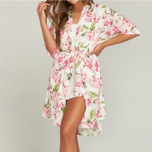 Brie garden of blooms limited editon robe